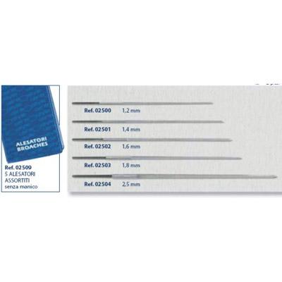 0202509 - Furador Sortido Estojo Kit Mod 2509 FLAG E - Contém 5 Peças SOB ENCOMENDA