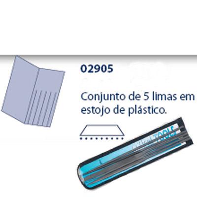 0202905 - Lima 02 Kit Grão 0 Mod 2905  -Contém 5 Peças