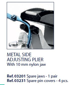 0203231 - Alicate 02 Reposição 0203230 Nylon Mod 3231  -Contém 4 Peças