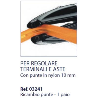 0203241 - Alicate 02 Reposição 0203240 Nylon Mod 3241 FLAG E  -Contém 2 Peças