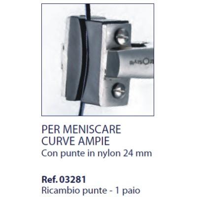 0203281 - Alicate 02 Reposição 0203280 Nylon Mod 3281  -Contém 2 Peças