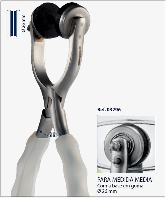 0203296 - Alicate 02 Giralente Medio Mod 3296  -Contém 1 Peça