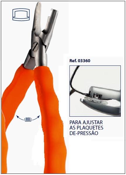 0203360 - Alicate 02 Plaqueta Mod 3360  -Contém 1 Peça