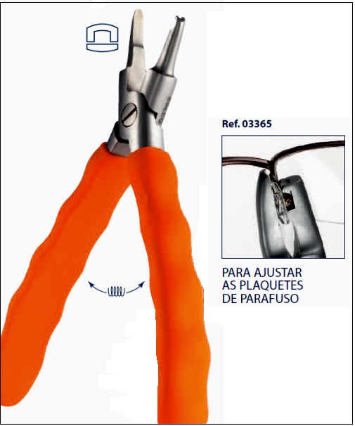 0203365 - Alicate Plaqueta Mod 3365 - Contém 1 Peça