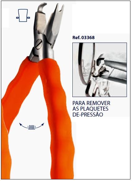0203368 - Alicate 02 Extrair Plaqueta Mod 3368  -Contém 1 Peça