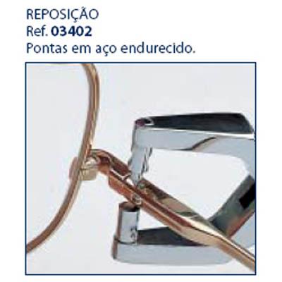 0203402 - Alicate 02 Reposição 0203400 Pino Aço Mod 3402 FLAG E  -Contém 1 Peça