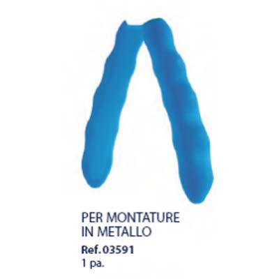 0203591 - Alicate 02 Reposição Punho_Silicone Azul Mod 3591  -Contém 1 Par