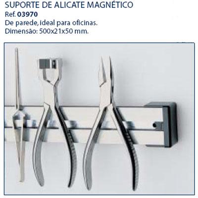 0203970-Organizador Suporte Alicate Metal Magnético Mod 3970 FLAG E - Contém 1 Peça  - SOB ENCOMENDA