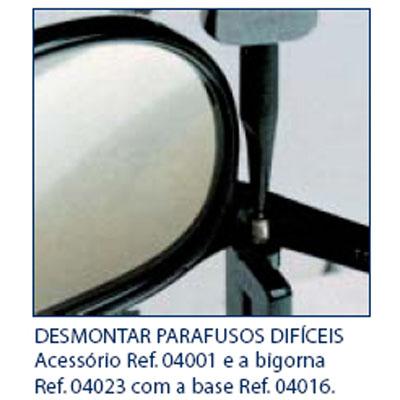 0204023 - Clavulus Reposição Base para Bigorna Mod 4023 FLAG E - Contém 1 Peça SOB ENCOMENDA