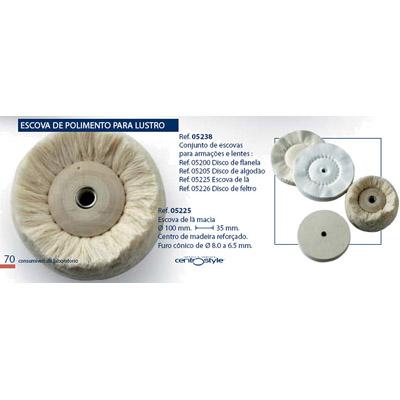 0205225 - Disco Lã Lustrar Mod 5225 - Contém 1 Peça