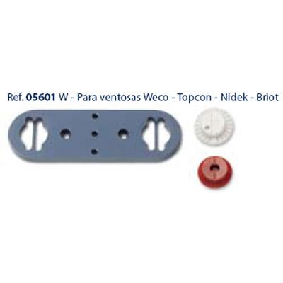 0205601 - Centralizador W_Weco Topcon Briot Mod 5601 FLAG E - Contém 1 Peça SOB ENCOMENDA
