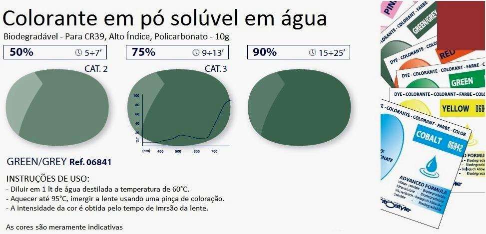 0206841 - Colorante Pó Biodegradavel G15 Mod 6841 - Contém 1 Pacote