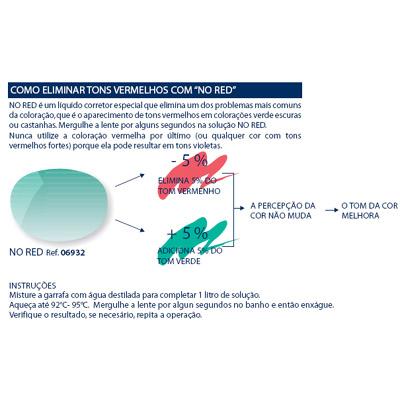 0206932 - Colorante Liquido Corretor No Red Mod 6932 FLAG 9 - Contém 1 Peça