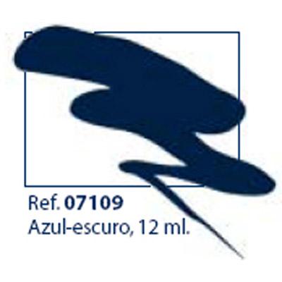 0207109 - Esmalte Retoque Laka Azul Marinho Mod 7109 FLAG P - Contém 12 Ml