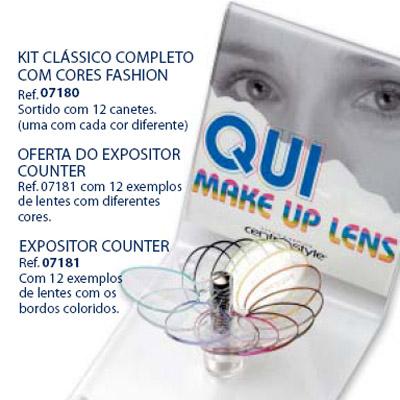 0207181 - Caneta Maquiar_Lentes Display Mod 7181 FLAG 9 - Contém 1 Peça