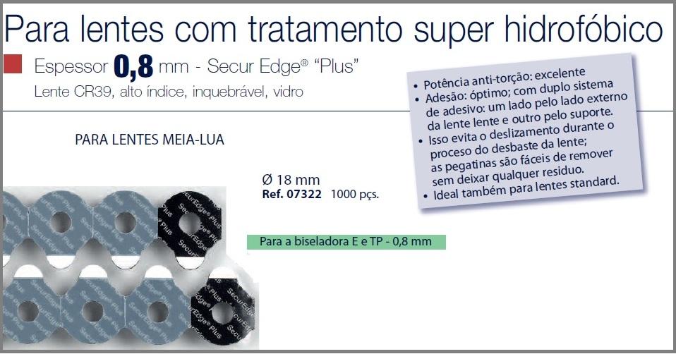 0207322 - Biadesivo Blocking Pad SuperHidrofobico D=18mm Mod 7322 FLAG E - Contém 1000 Peças SOB ENCOMENDA