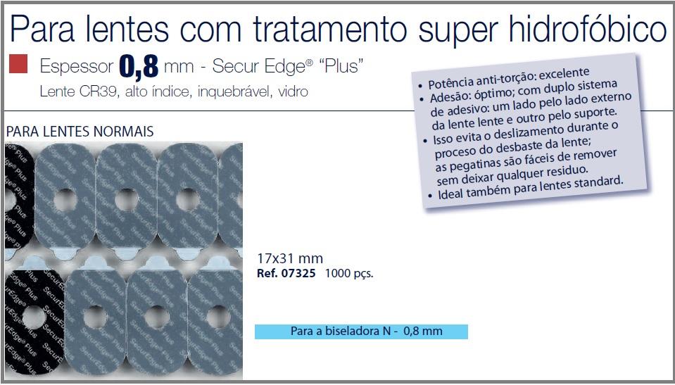 0207325 - Biadesivo Blocking Pad SuperHidrofobico 17x31mm Mod 7325 FLAG E - Contém 1000 Peças SOB ENCOMENDA