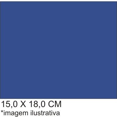 0211546B - Microfibra 02 Standard 15x18,0 Azul Mod 11546B  -Contém 100 Peças