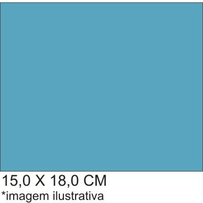 0211547B - Microfibra 02 Standard 15x18,0 Azul Fashion Mod 11547B  -Contém 100 Peças