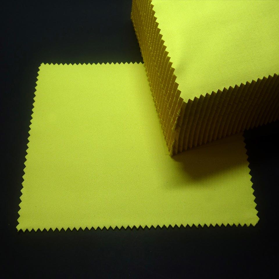 0211559B - Microfibra Standard 11x16,5 Amarelo Mod 11559B FLAG E - Contém 100 Peças SOB ENCOMENDA