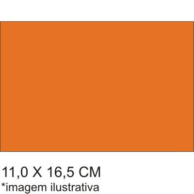 0211565B - Microfibra 02 Standard 11x16,5 Laranja Mod 11565B  -Contém 100 Peças