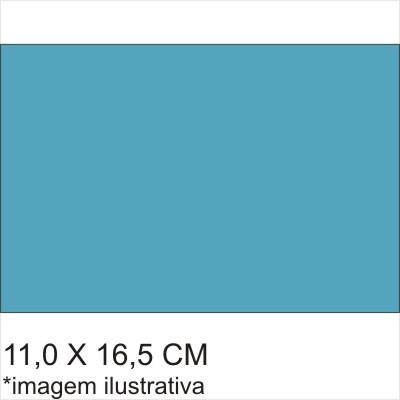 0211567B - Microfibra Standard 11x16,5 Azul Fashion Mod 11567B FLAG E - Contém 100 Peças SOB ENCOMENDA