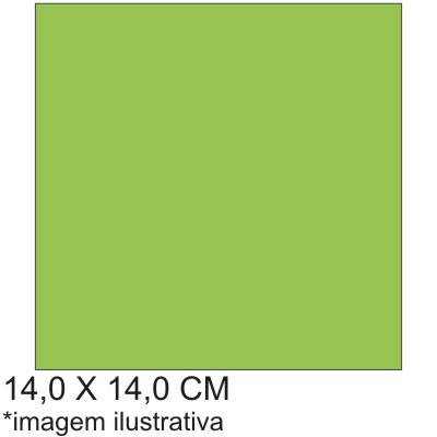 0211683EV - Microfibra 02 Premium 14x14,0 Verde Fashion Mod 11683EV FLAG E  -Contém 100 Peças