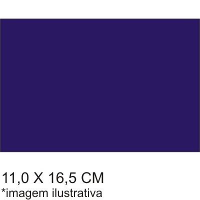 0211711EV - Microfibra 02 Premium 11x16,5 Azul Mod 11711EV FLAG E  -Contém 100 Peças