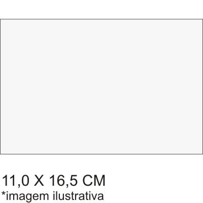 0211719EV - Microfibra Premium 11x16,5 Branco Mod 11719EV - Contém 100 Peças