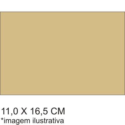 0211728EV - Microfibra 02 Premium 11x16,5 Bege Mod 11728EV  -Contém 100 Peças