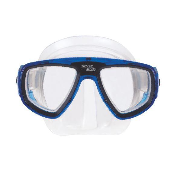 0212243-Máscara-Mergulho Extreme Az/Inc Lente Neutra Mod 12243 FLAG E - Contém 1 Peça  - SOB ENCOMENDA