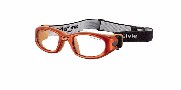 0213404 - Óculos Proteção Esporte Banda Elástica 47x20 Laranja/Laranja Mod 13404 FLAG E - Contém 1 Peça SOB ENCOMENDA