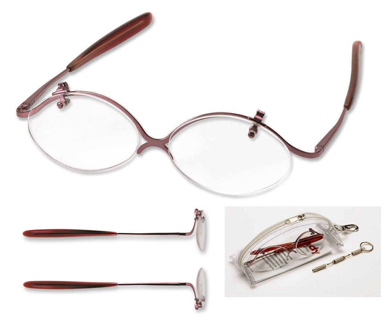 0214192 - Óculos Maquiagem Lente Demonstração Mod 14192 FLAG 9  -Contém 1 Peça