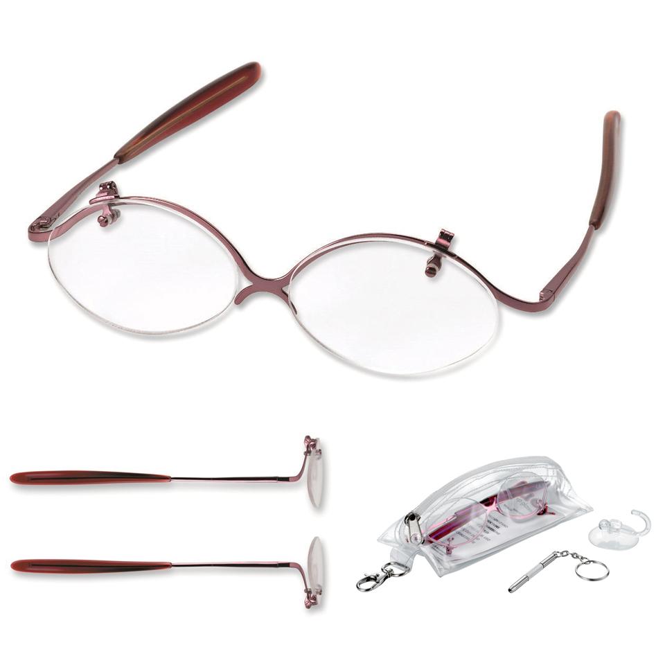 0214195 - Óculos Maquiagem Lente Graduada +2,50 Mod 14195  -Contém 1 Peça