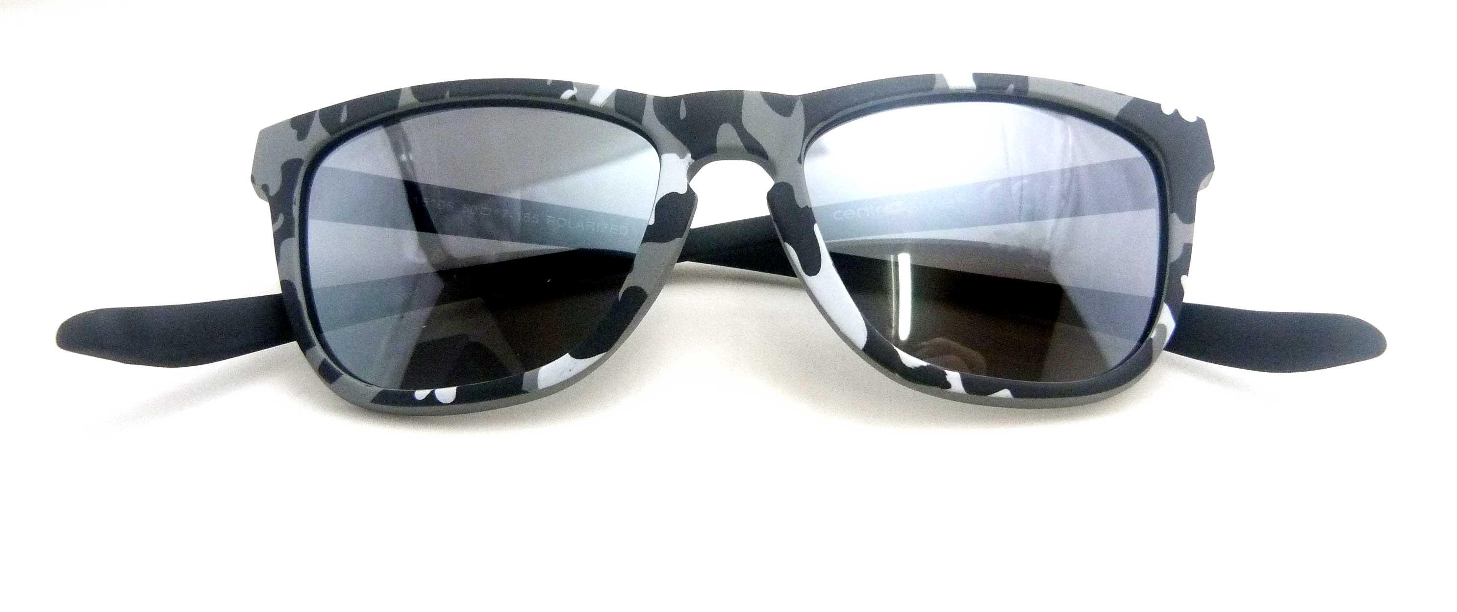 0215106 - Óculos-Solar CS Koala Camuflado 50x17 Cinza Mod 15106 FLAG 9 - Contém 1 Peça
