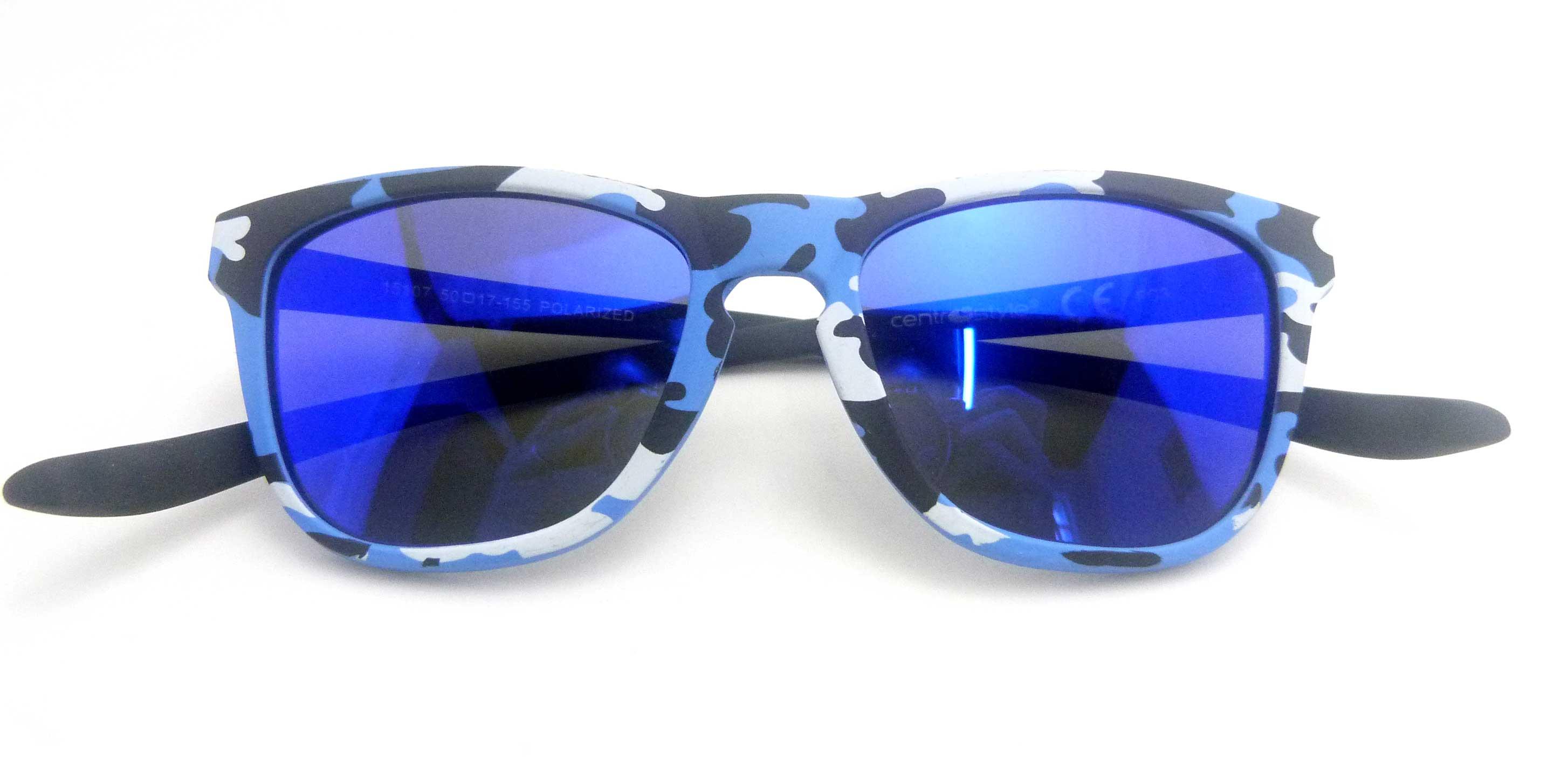 0215107 - Óculos-Solar CS Koala Camuflado 50x17 Azul Mod 15107 FLAG 9  -Contém 1 Peça