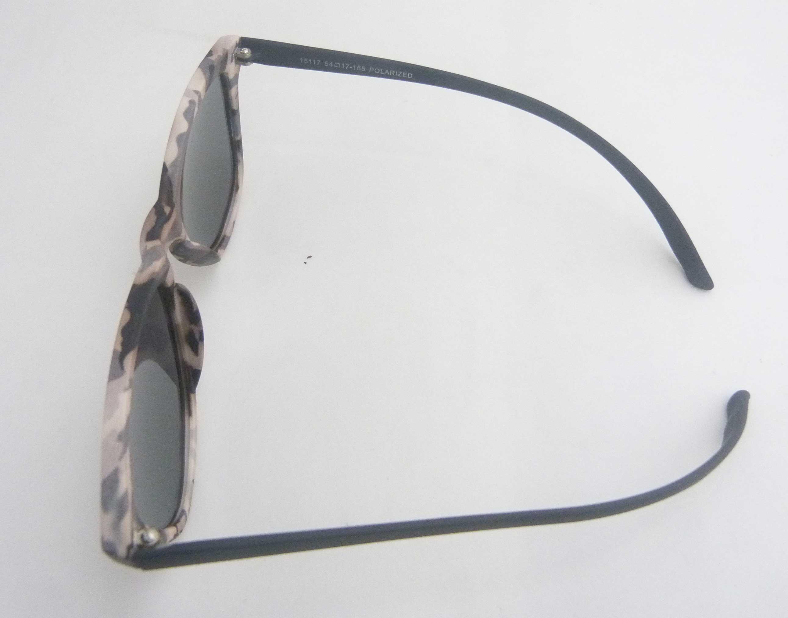 0215116 - Óculos-Solar CS Koala Camuflado 54x17 Marrom Mod 15116 FLAG 9 - Contém 1 Peça