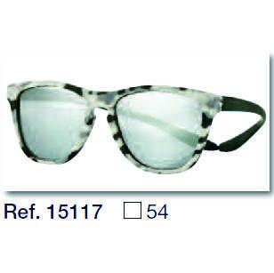 0215117 - Óculos-Solar CS Koala Camuflado 54x17 Branco Mod 15117 FLAG 9  -Contém 1 Peça