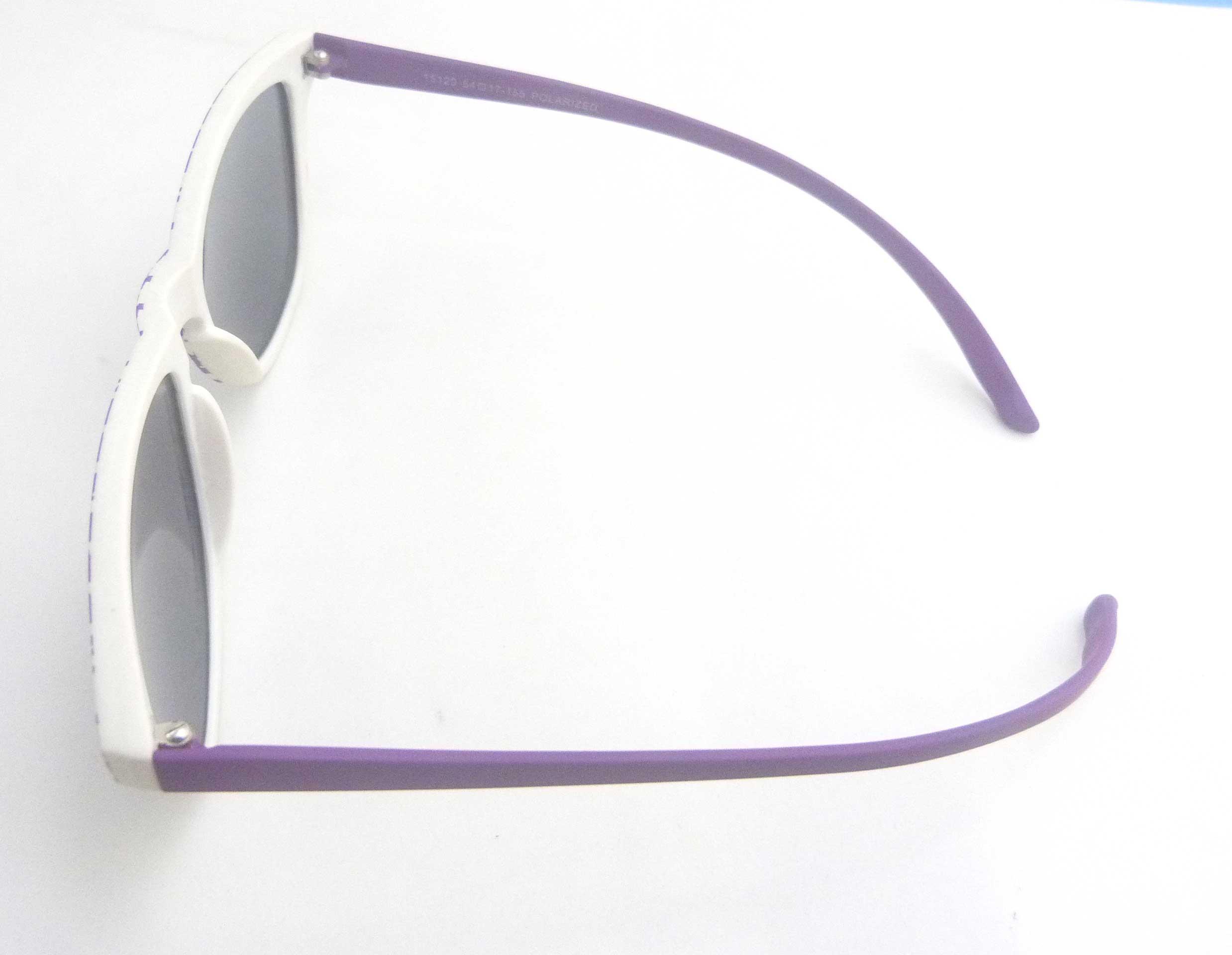 0215129 - Óculos-Solar CS Koala Xadrex 54x17 Roxo Mod 15129 FLAG 9  -Contém 1 Peça