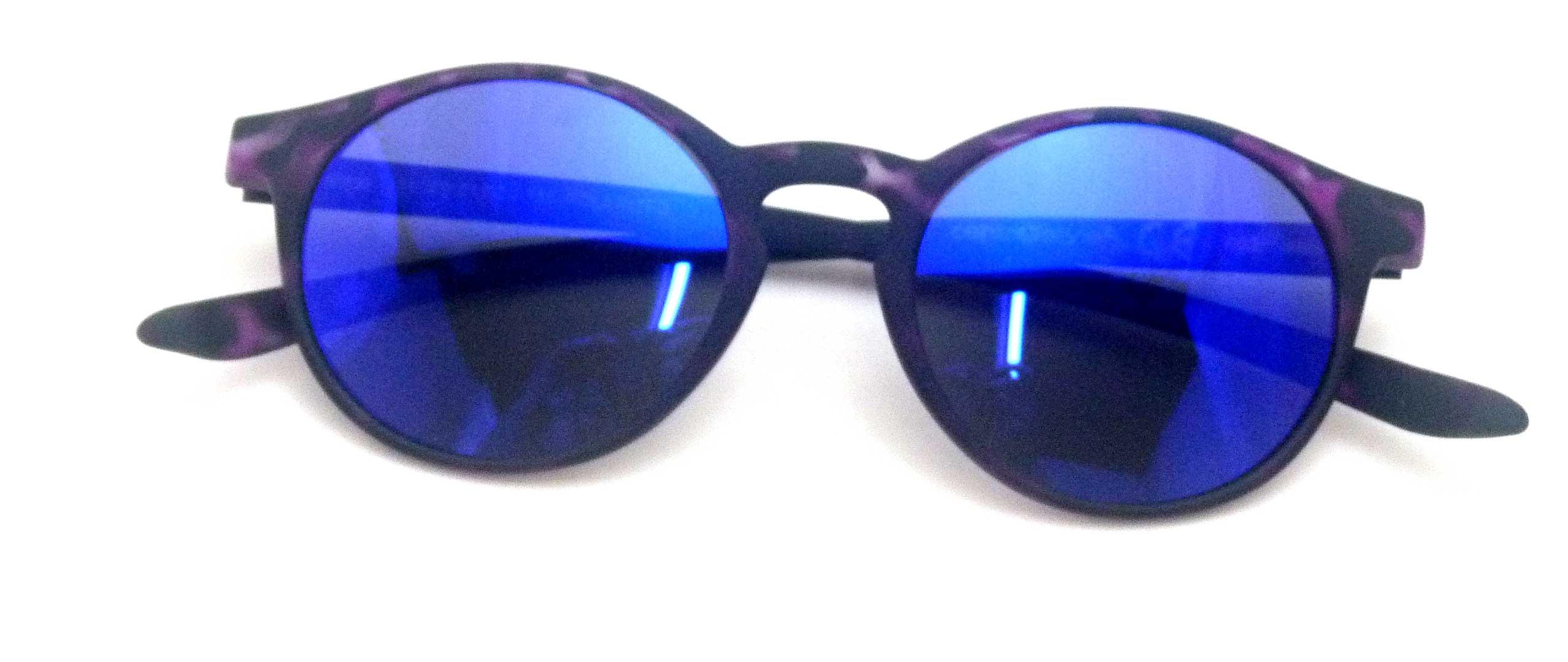0215142 - Óculos-Solar CS Koala Rubber 51x20 DemiRoxo Mod 15142 FLAG 9  -Contém 1 Peça