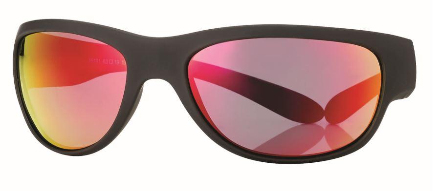 0215191 - Óculos-Solar CS Moto 63x19 Preto/Preto/Verm Mod 15191 FLAG E - Contém 1 Peça SOB ENCOMENDA