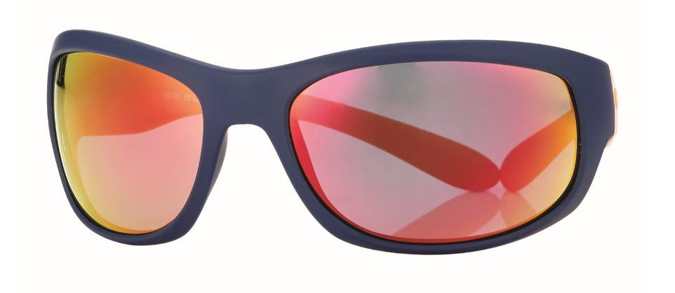 0215197 - Óculos-Solar CS Moto 65x18 Azul/Laranja/Vermelho Mod 15197 FLAG 9  -Contém 1 Peça