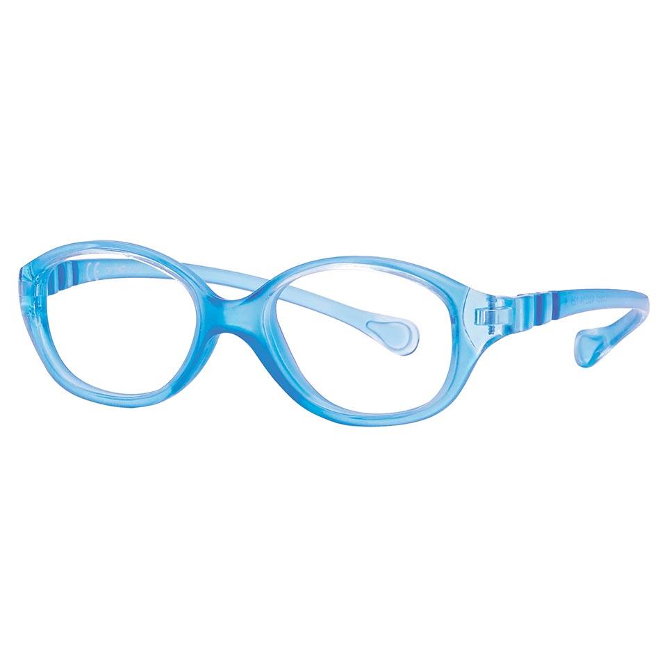 0215361 - Armação Inf Active Spring TR90 Gatinha (3) 40x14 Azul Cl Mod 15361N - Contém 1 Peça