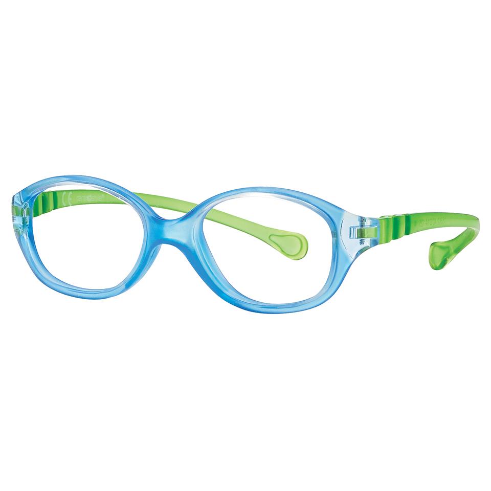 0215362 - Armação Inf Active Spring TR90 Gatinha (3) 40x14 Azul Cl/Verde Mod 15362N - Contém 1 Peça