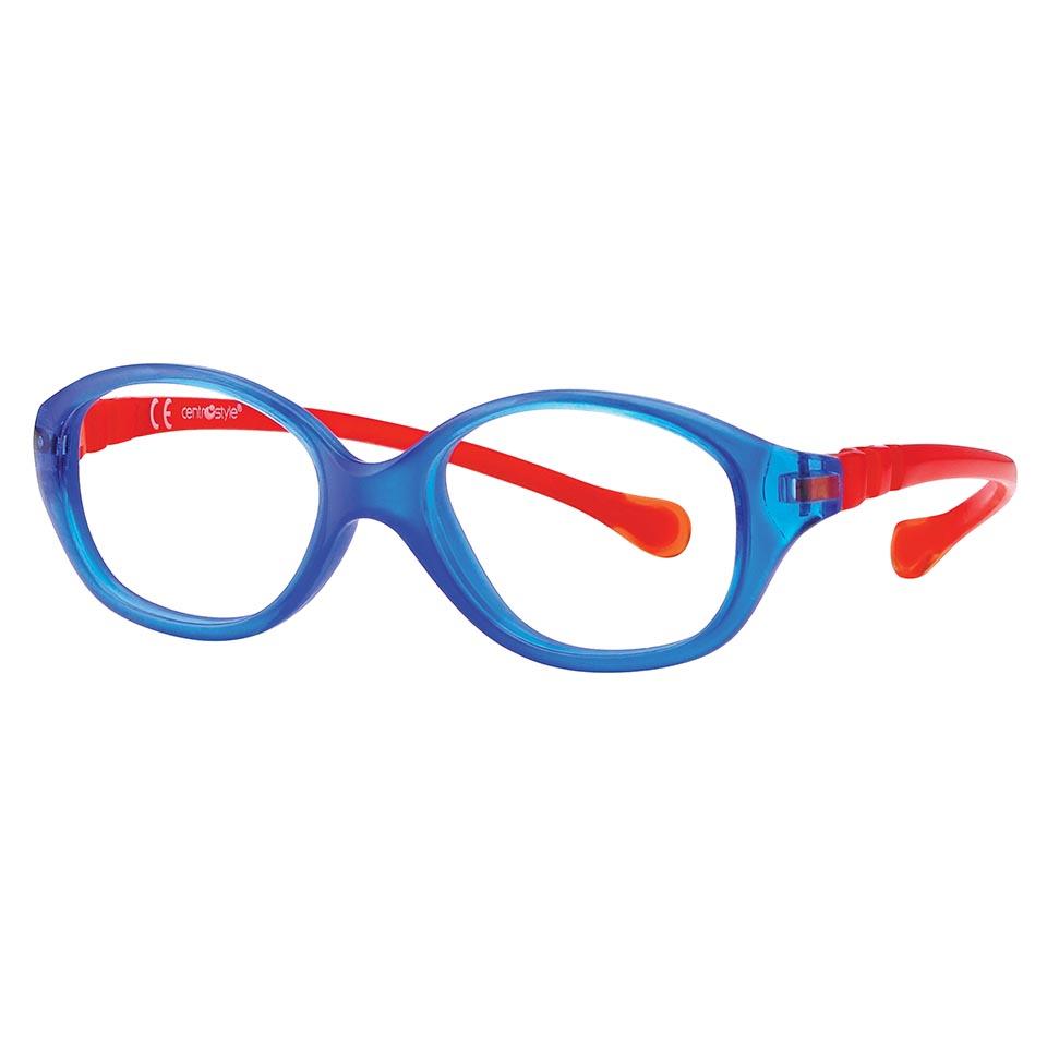 0215367 - Armação Inf Active Spring TR90 Gatinha (3) 42x14 Azul/Vermelho Mod 15367 - Contém 1 Peça