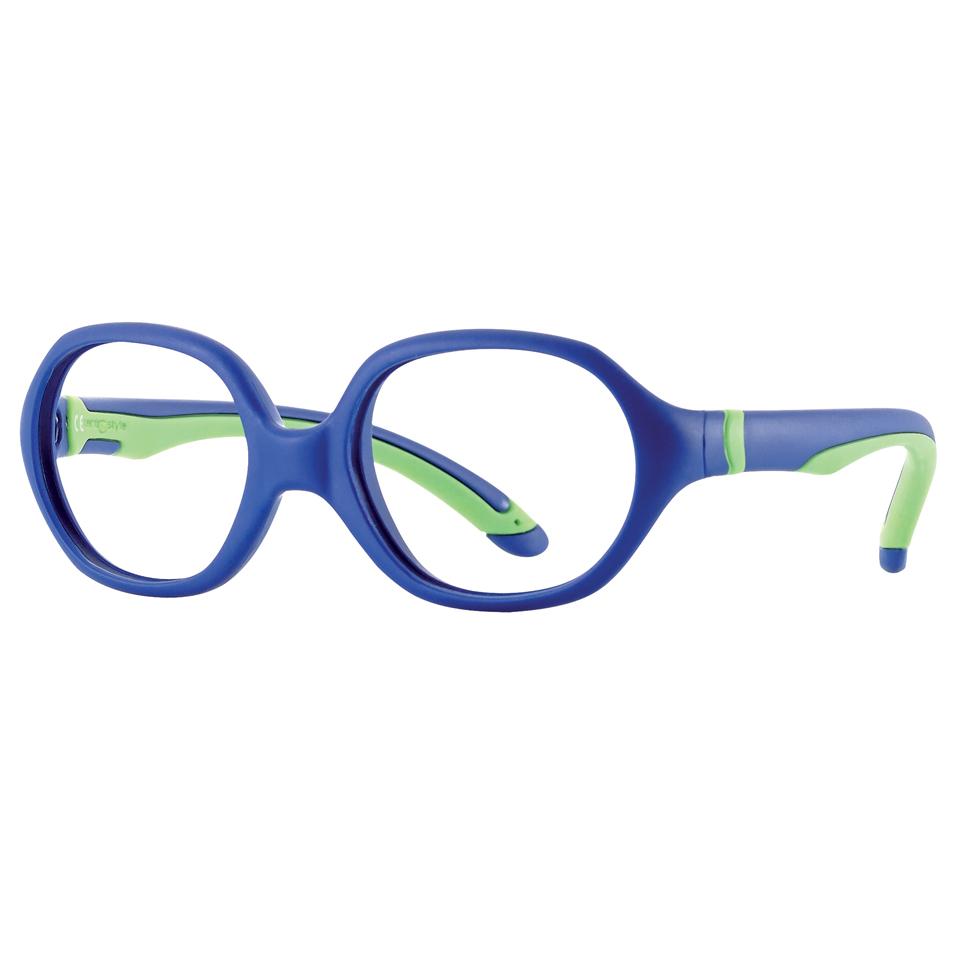 0215719 - Armação Inf Soft 40x15 Azul/Verde Mod 15719  -Contém 1 Peça