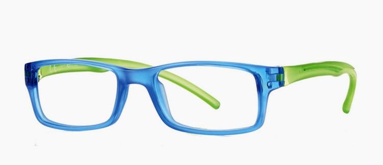 0215778 - Armação Inf Active Sport TR90/Goma 48x17 Azul/Verde Mod 15778  -Contém 1 Peça