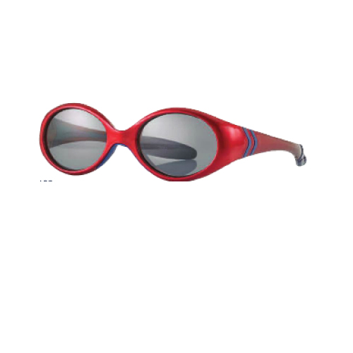 0216859 - Óculos-Solar Inf Baby 38x15 Vermelho/Azul Mod 16859 FLAG E - Contém 1 Peça SOB ENCOMENDA