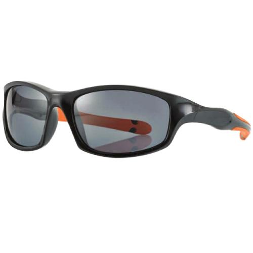 0216898 - Óculos-Solar Inf Junior 54x16 Preto/Laranja Mod 16898  -Contém 1 Peça