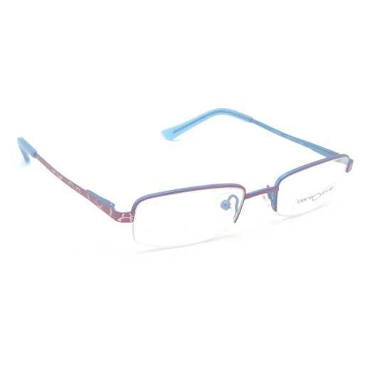 0217280 - Armação Inf Metal (v) 44x17 Rosa/Azul Mod 17280 FLAG 9 - Contém 1 Peça